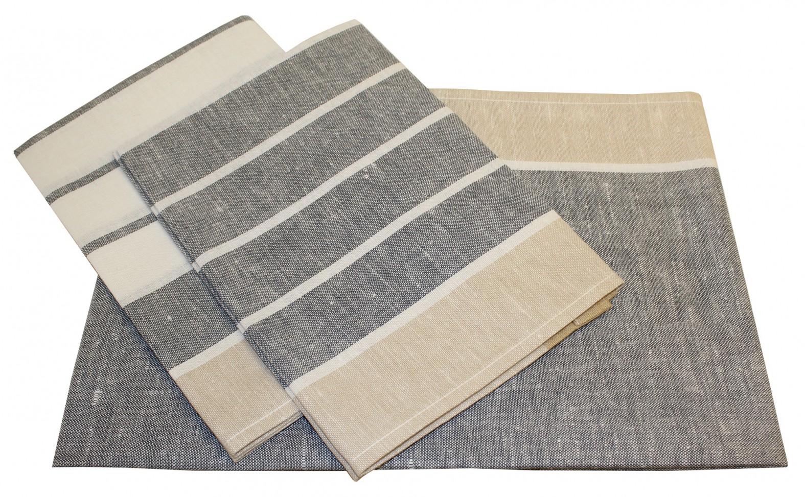 triolino 3 er pack jacquard geschirrt cher halbleinen. Black Bedroom Furniture Sets. Home Design Ideas